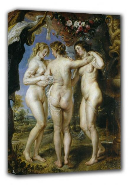Rubens, Peter Paul: The Three Graces. Fine Art Canvas. Sizes: A3/A2/A1 (00550)